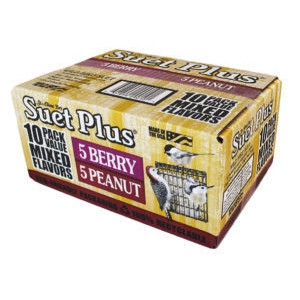 Mixed Flavor Suet Plus 10 Pack $5.99