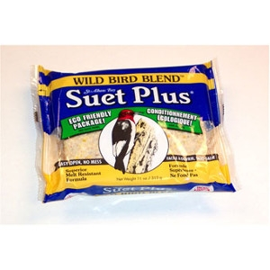 Suet Plus Wild Bird Blend Suet Cake 11oz $.69