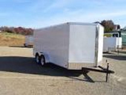 7' X 16' ENCLOSED TRAILER