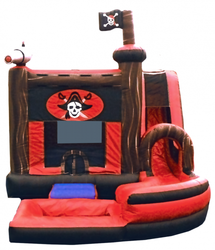JUMP N SPLASH PIRATE BOUNCE HOUSE