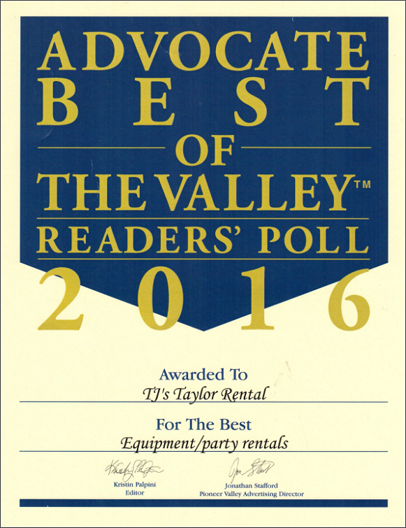 Best of the Valley 2016