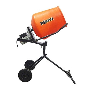3.5 cu. ft. 3/4 HP 120-Volt Motor Direct Drive Moveable Pedestal Cement Electric Mixer