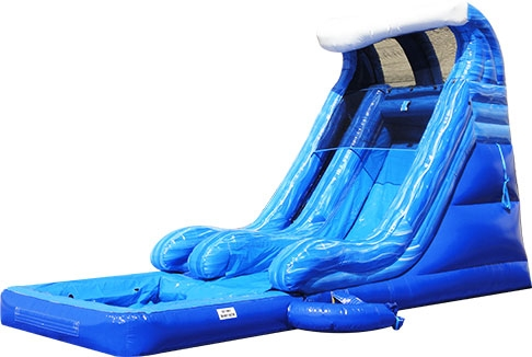 Tidal Wave Slide With Pool
