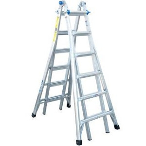 26' Telescoping Articulating Ladder
