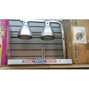 FOOD WARMER 2 LAMP