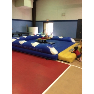 Surf Machine Inflatable, w/Low Wall Bed
