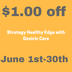 Strategy Healthy Edge with Gastric Care $1 off