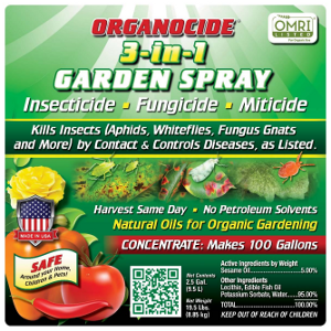 ORGANOCIDE® 3-in-1 GARDEN SPRAY