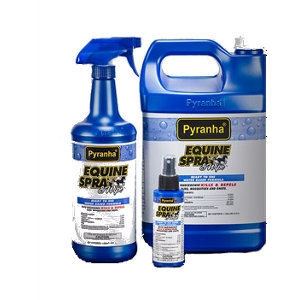 Pyranha® Equine Spray & Wipe™
