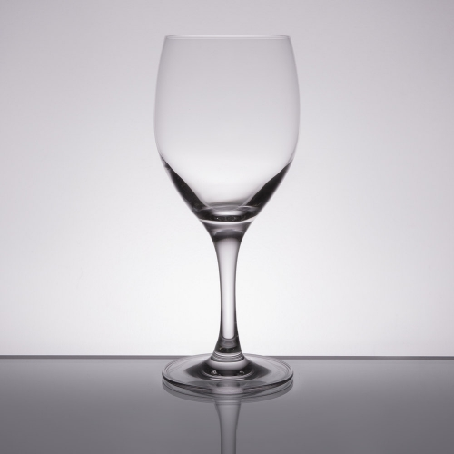 Wine Glass, 14 oz. red/white
