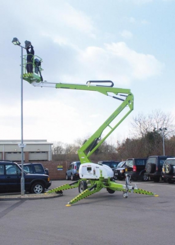 48' Electric Towable Boom Lift