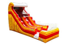 Fire Tide Wave Water Slide