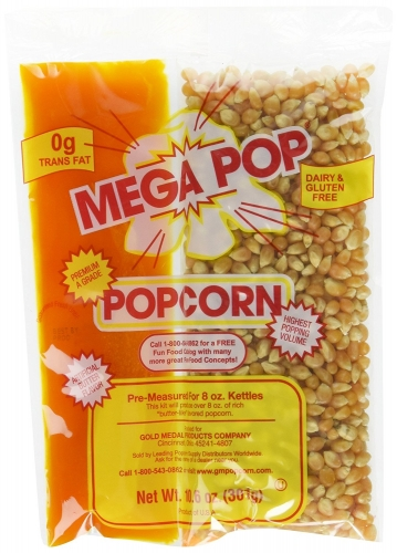 8oz. Mega Pop Popcorn Kit