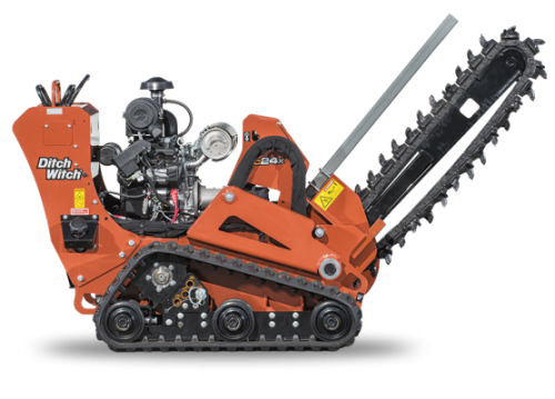 C24X Ditch Witch Trencher