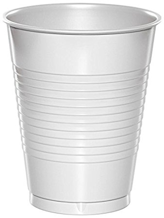 White Plastic Cold Cups