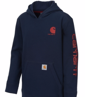 Carhartt Boys Hooded Sweatshirt