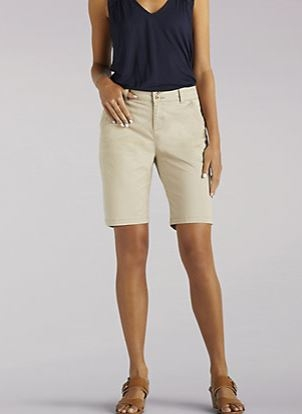 Straight Fit Tailored Bermuda Short