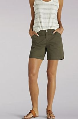 Straight Fit Tailored Chino Short