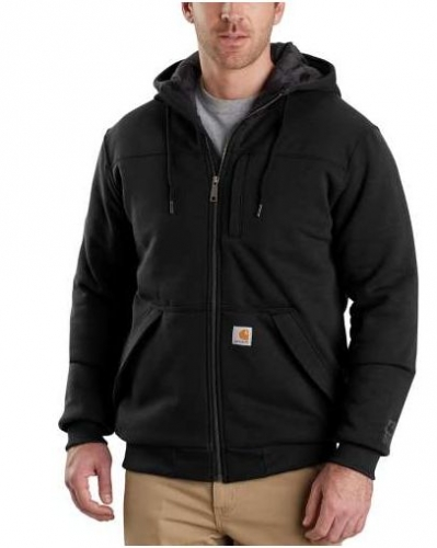 RAIN DEFENDER ® ROCKLAND QUILT-LINED FULL-ZIP HOODED SWEATSHIRT