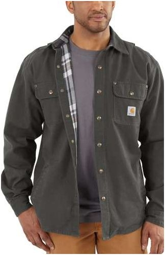 WEATHERED CANVAS SHIRT JAC