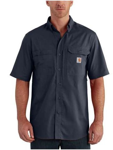 CARHARTT FORCE® RIDGEFIELD SOLID SHORT SLEEVE SHIRT