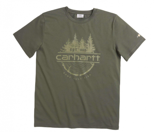 CARHARTT FORCE® CAMP FISH HUNT TEE