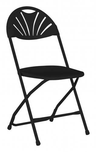 Chair, Fanback Black