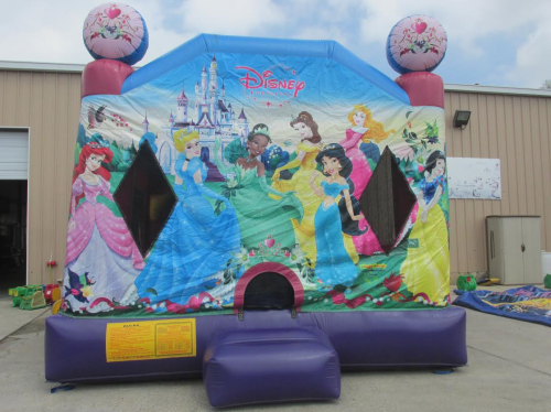 5 n 1 Combo Bounce House, Disney Princess W/D