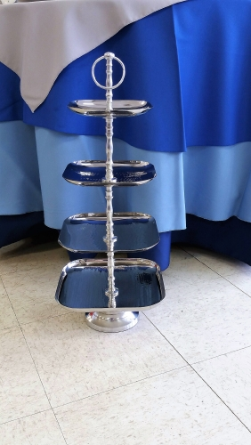 Serving Tray, 4 Tier