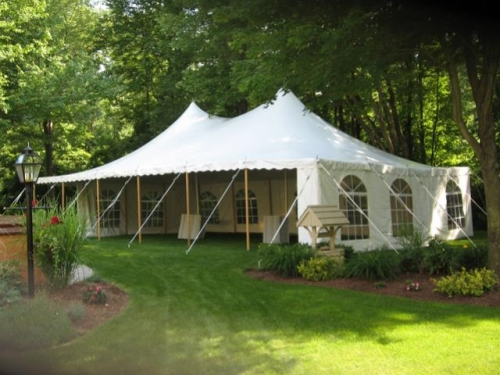 Evolution 30 x 45 Pole Tent