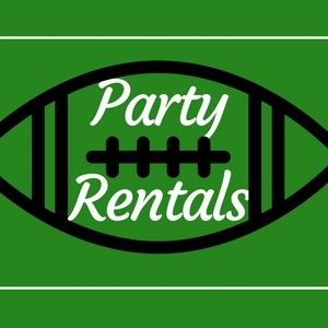 Game Day Party Rentals!