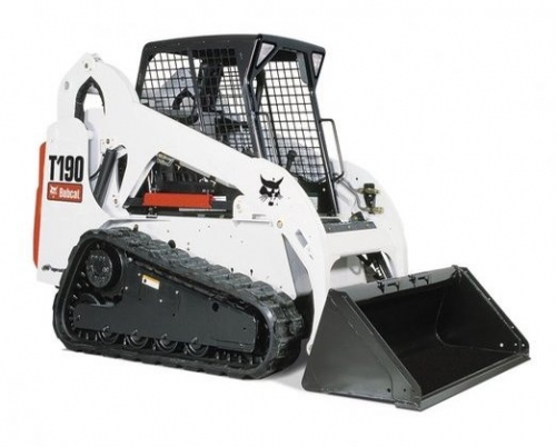Skid Steer Loader 2100 lb - Rubber Track Drive