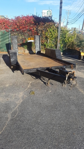 Used Equipment Trailer 14' x 6'