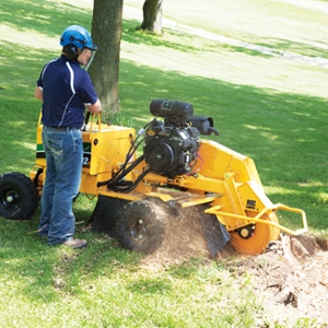 Stump Cutter - 27 HP Large Hydraulic Self Propelled Vermeer