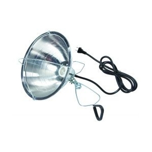 Little Giant 10.5'' Reflector Brooder Lamp with Clamp