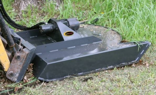 Mini Skid Steer Brush Mower
