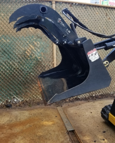 Mini Skid Steer Scrap Grapple
