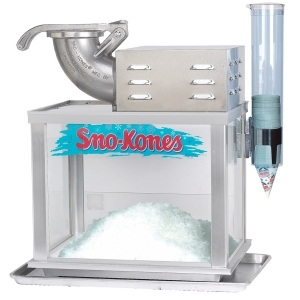 Free Gallon of Syrup with Sno-Kone Machine Rental