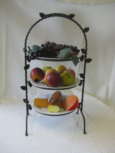 Tier Plate or Dessert Rack