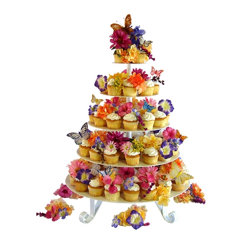 Carrie Marie Cupcake Tree Round Detachable