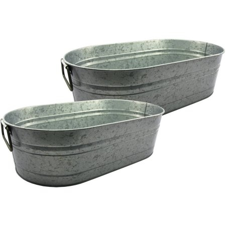 Galvanized Oval Tubs