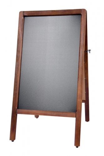 Chalk Board, A-Frame Antique Sidewalk Chalkboard
