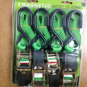 Etzkorn Enterprises Magnetic Ratchet Tie-Downs