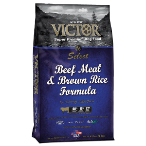 Vict Beef & Brown Rice Dog Food