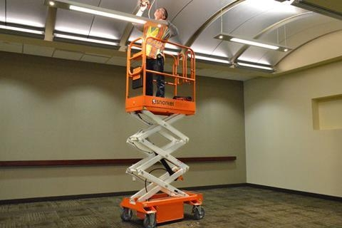 10' SCISSOR PUSH LIFT