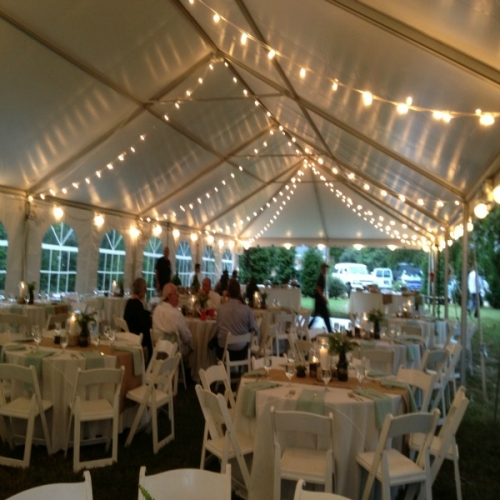 Tent Lighting Perimeter Mini Lights | Taylor True Value Rental