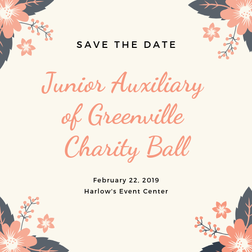 Junior Auxiliary of Greenville Charity Ball