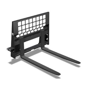 Bobcat Mini Track Loaded Pallet Fork