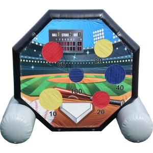 Inflatable Soccer Darts/Baseball