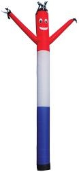 Air Dancer red/white/blue 20'